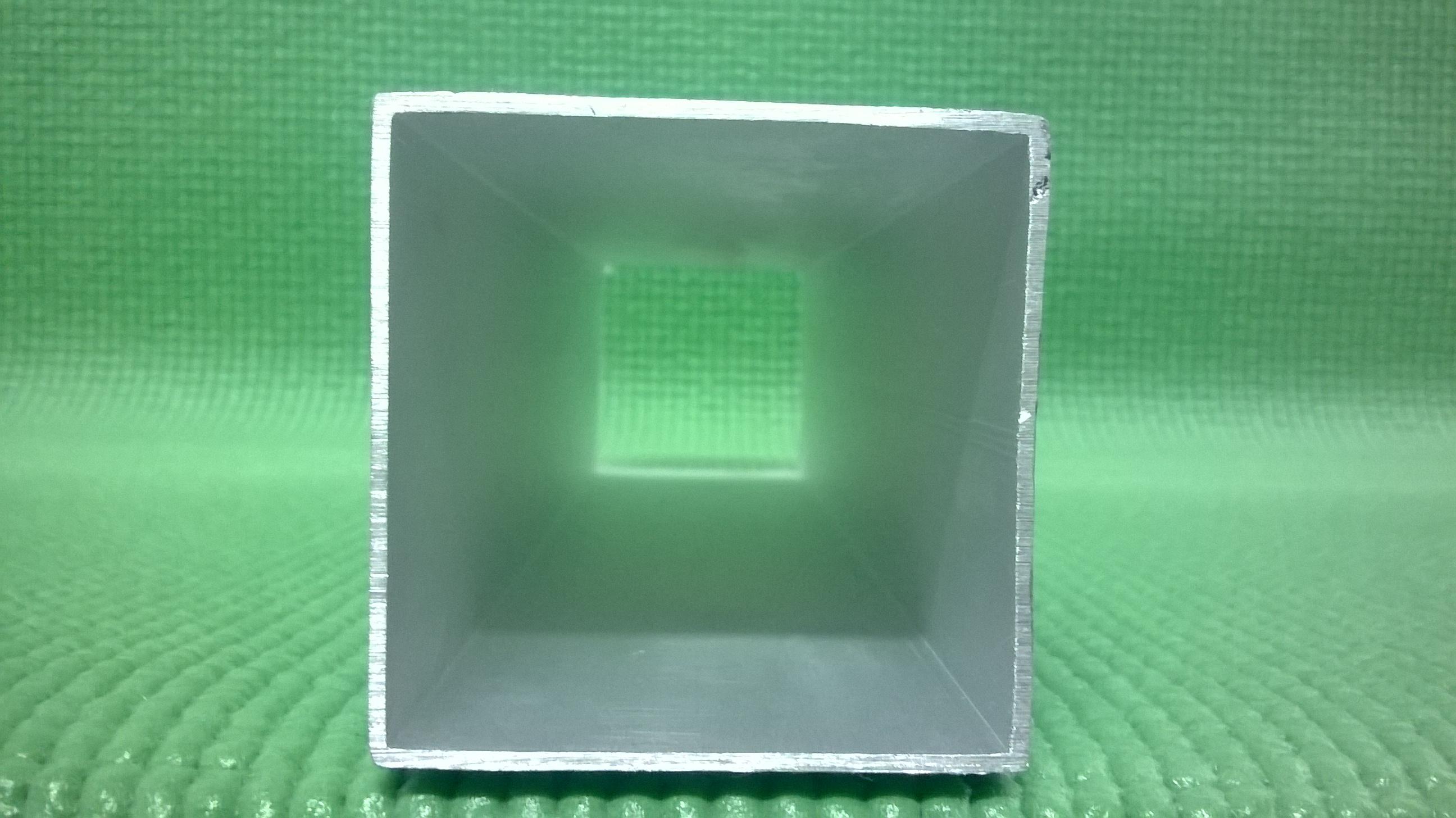 Tubo cuadrado de aluminio de aluminio - Tubo de aluminio ...
